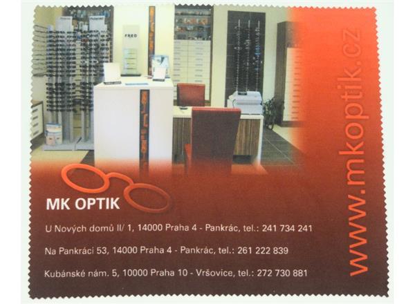 Hadřík na brýle - mikrovlákno MK Optik