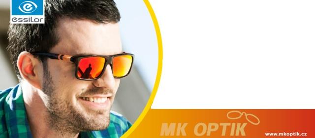 Stylové sluneční brýle - zrdcadlovky s polarizací
